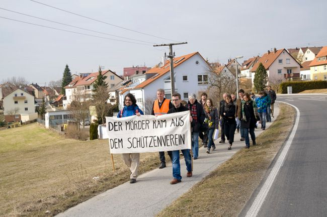 Demonstration in Winnenden